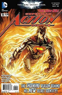 Action Comics Issue 11 - First Print Grant Morrison - Dc Comics New 52 Superman