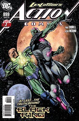 Action Comics Issue 899 - Superman - Paul Cornell Lex Luthor The Black Ring