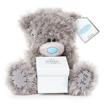"""Gorgeous 9"""" Me To You TattyTeddy SPECIAL FRIEND Plush Blue Nose Bear Gift"""