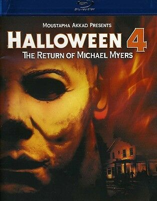 Halloween 4: The Return of Michael Myers (2012, Blu-ray NUEVO) BLU-RA (REGION A)