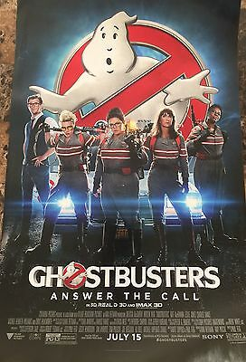GHOSTBUSTERS Original 11x17 mini movie poster collectible