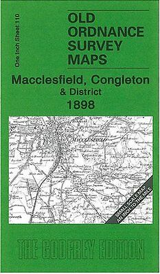 Map Of Macclesfield, Congleton & District 1898