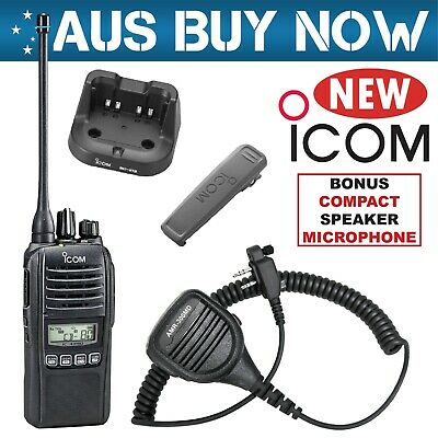 Icom Ic-41Pro Uhf Cb Two Way Radio Ic 41 Pro Portable Handheld Hand Held Ic-41W