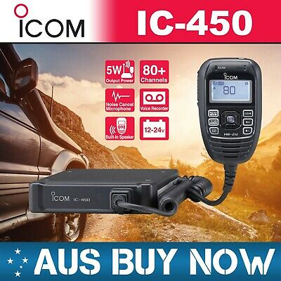 Icom Ic-450 80 Ch Uhf Cb Two Way Radio Ic 450 Ic450Pro 440N 410 Pro Ic440N Gme