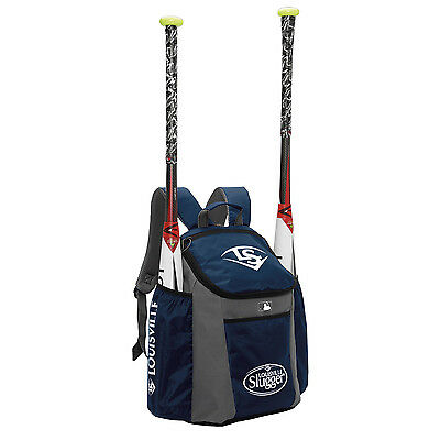 Louisville Slugger Series 3 Stick Pack Baseball/Softball Backpack - Navy