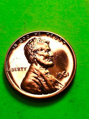 1961 Lincoln Memorial Penny ~ GEM PROOF Uncirculated ~ US Coin
