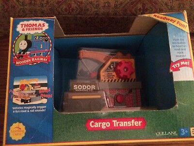 Cargo Transfer Station for the Thomas Wooden Railway System New in Box!