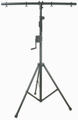 Lighting Stand With Winch & T-Bar 3 Metres