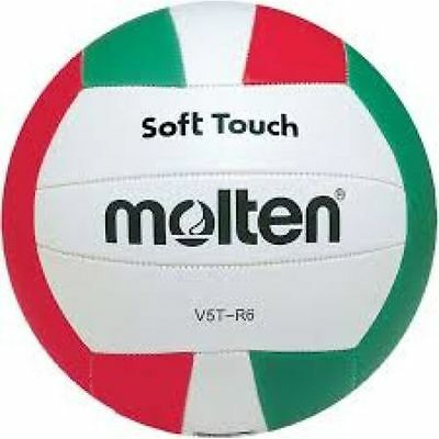 Molten V5TR6 Series Soft Touch Light Leather School Club Training Volleyball