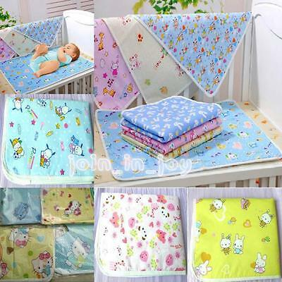 3 Sizes Reusable Baby Infant Waterproof Urine Mats Cover Changing Pad Durable JJ