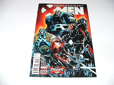 Extraordinary X-Men 12 (Marvel Comics) Sep 2016 APOCALYPSE WARS
