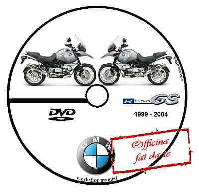 Manuale Officina Bmw R1150 Gs R 1150 Workshop Manual Dvd Software Cd Service
