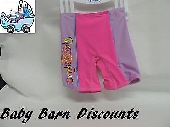 NEW Bright Bots Swimmer Shorts Size 0 - Hot Pink/Lilac from Baby Barn Discounts