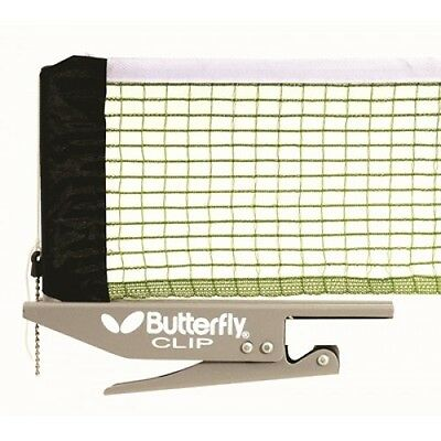 Butterfly Clip Table Tennis Net And Post Set