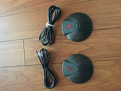 Polycom SoundStation EX Extended Microphone- 1 pair with cables