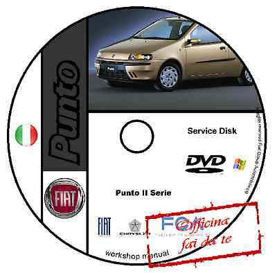 Manuale Officina Fiat Punto 2A Serie Workshop Manual Service Cd Dvd Software