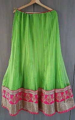 Indian Party Wear Bollywood Anarkali Lengha choli with blouse pice.