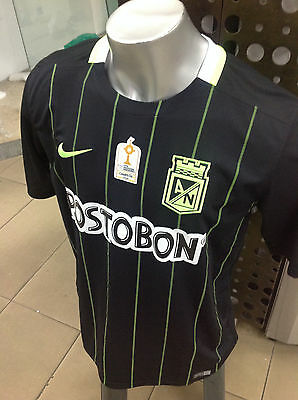Atletico Nacional Camiseta All Sizes Aaa  See Option Field Black Visitors Jersey