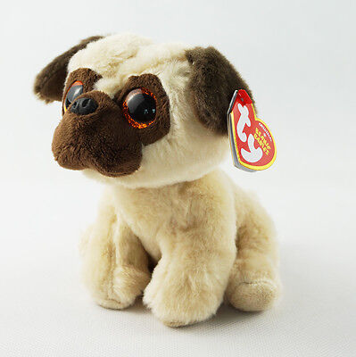 "6"" TY Beanie Babies With Tag Rufus Dog New Glitter Eyes Plush Stuffed Toys"