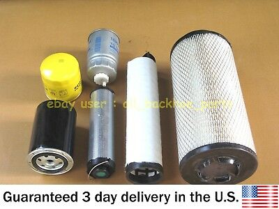 Jcb Backhoe - Filter Service Kit Project 12 Turbo 98-04 (Assorted Part No.s)
