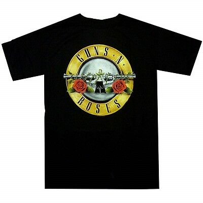 Guns N Roses Bullet Logo Shirt S M L XL XXL Official T-Shirt Band Tshirt New