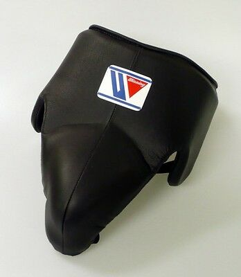 New Winning Boxing Groin Protector CPS-500 Black, Standard Cut From Japan