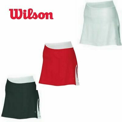 "WILSON Womens Performance Team Skirt Tennis Skort 13.5"" WRA33260 New"