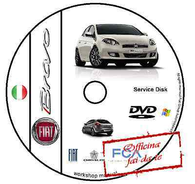 Manuale Officina Fiat Nuova Bravo Workshop Manual Service Cd Dvd Software Elearn