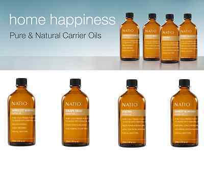Natio Home Happiness Pure & Natural Carrier Oils ::4 To Choose From!!::