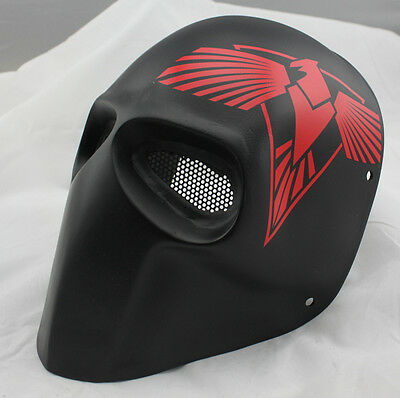 Nice Durable Fiber Resin Mesh Eye Airsoft Paintball Full Face Protection Mask
