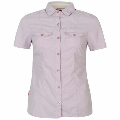 Craghoppers NosiLife Darla Short Sleeve Shirt UK 12
