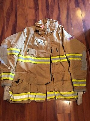 Firefighter Globe Turnout Bunker Coat 54x35 G Extreme Halloween Costume
