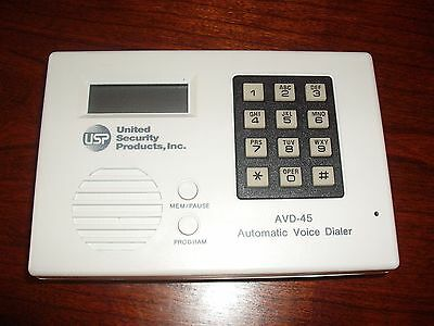 United Security Products Model AVD-45 Voice Dialer