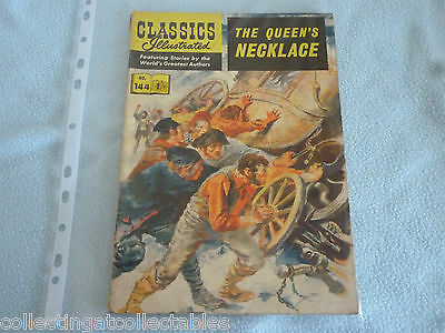 Classics Illustrated No 144 The Queens Necklace