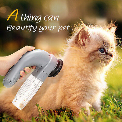 Electric Pet Hair Remover Suction Device For Dog Cat Grooming Vacuum System Cle