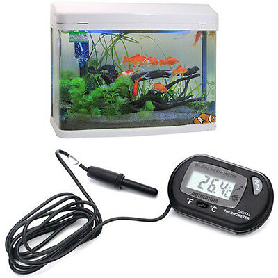 Digital Fish Aquarium Water LCD Terrarium Thermometer