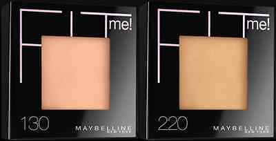 Maybelline Fit Me Pressed Powder - Various Shades