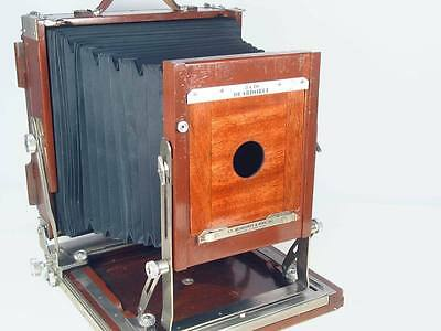 Para Deardorff Field Wood 8x10 Camera Lens Board #1