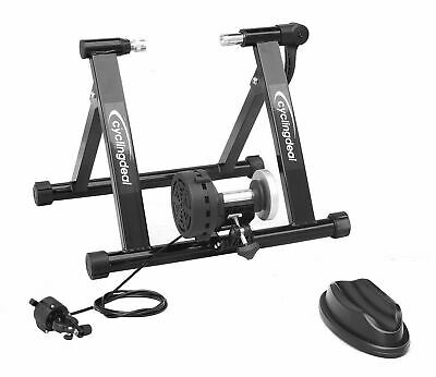 Indoor Bike Trainer Portable Exercise Bicycle Magnetic Stand With Shifter