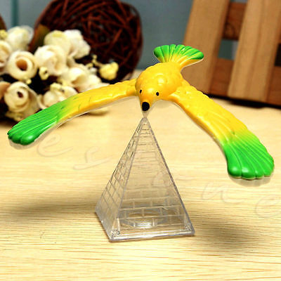Xmas Gift Magic Balancing Bird Science Desk Toy Novelty Eagle Fun Learning Gag