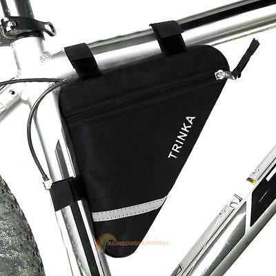 Waterproof Triangle Cycling Bike Bicycle Front Tube Frame Pouch Saddle Bag Case