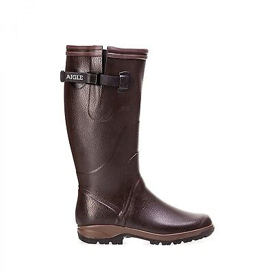 NEW Aigle Wellies TERRA PRO VARIO - Jersey Lining - brown
