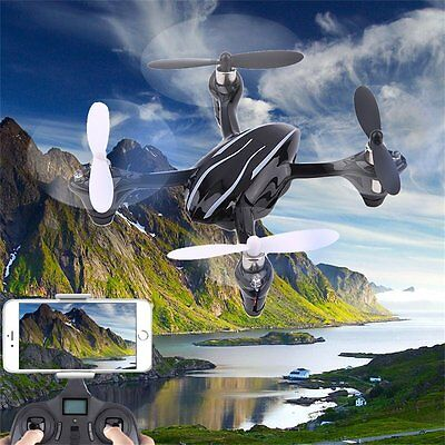 New The Hubsan X4 H107L Quadcopter 4 Channel 2.4GHz RC Quadcopter Black OS