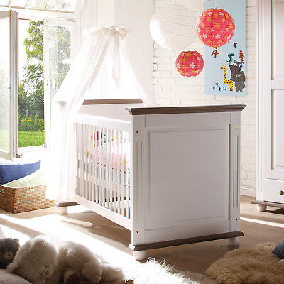 stokke sleepi mini midi babybett kinderbett inkl betthimmel und nestchen eur 339 00. Black Bedroom Furniture Sets. Home Design Ideas