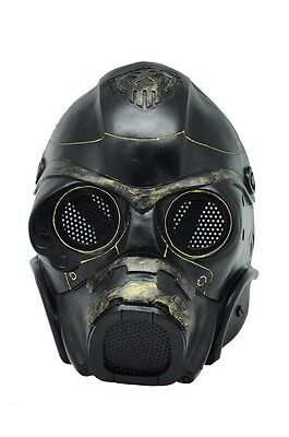 Black Wire Mesh Protection Airsoft CS Paintball Spectre Mask Prop Halloween F557