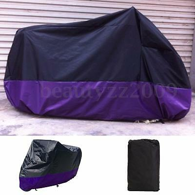 Dust Bike Motorcycle Cover Waterproof Outdoor Rain UV Protector Motorbike XL