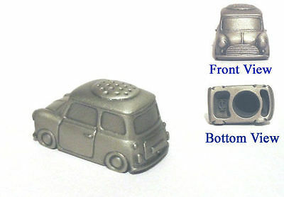 1960's Mini Car Antiqued Pewter Thimble NEW Collectible Thimble Made in England