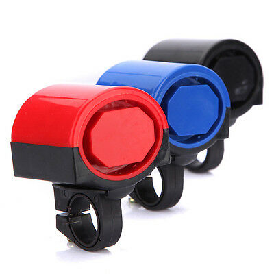 Electronic Bicycle Bike Cycling Alarm Loud Bell Horn