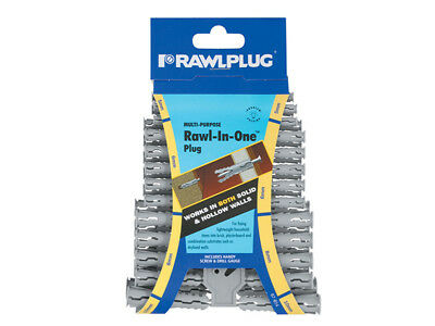 Rawlplug RAW67614 Rawl-in-One Plugs (Clip of 48)