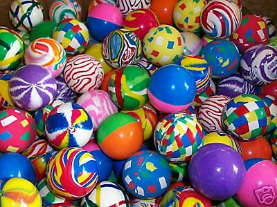 "50 Giant  1.5"" Super Bounce Bouncy Balls Superballs"